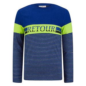 RETOUR Retour jongens shirt Alonzo Rich Blue