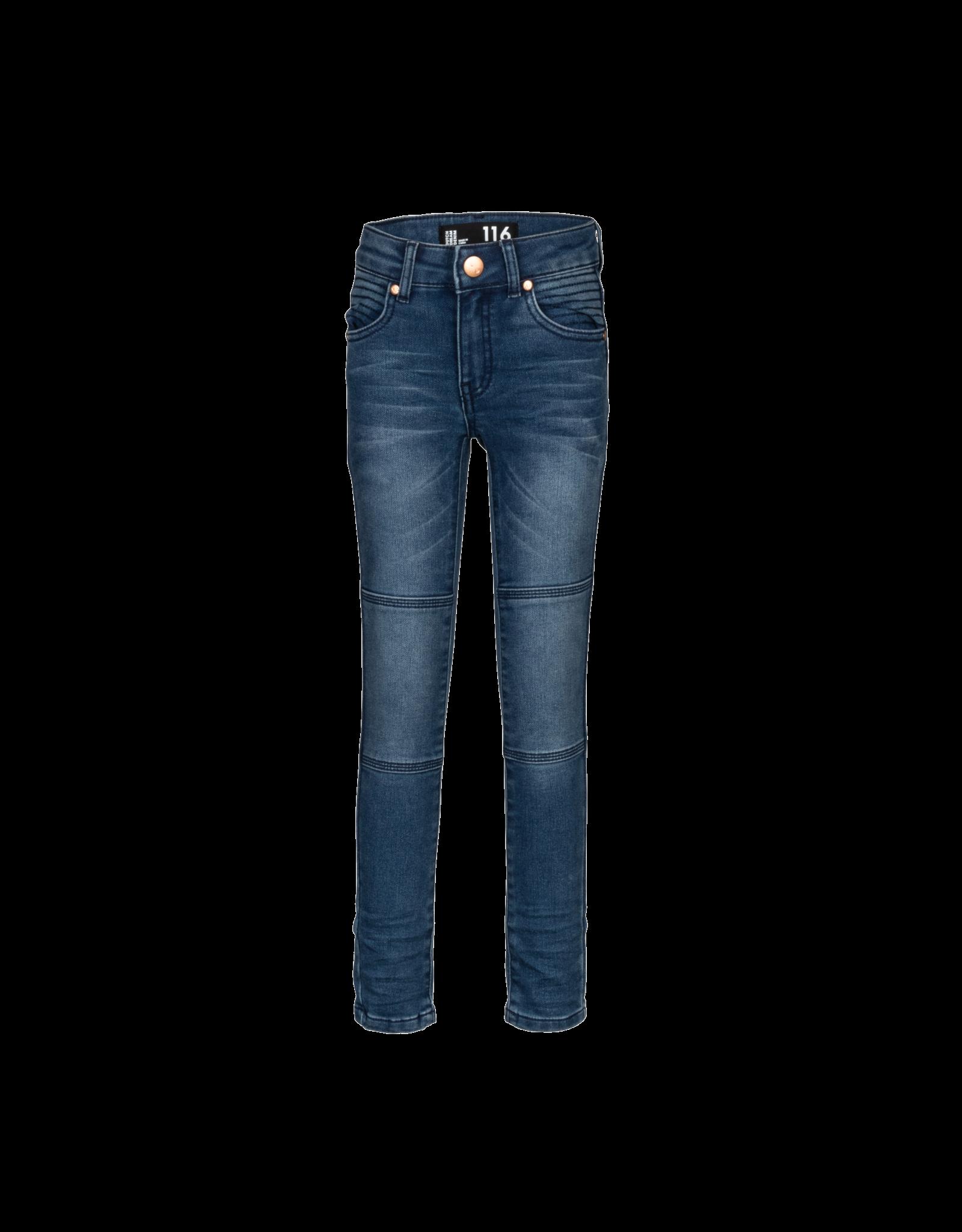 DDD DDD jongens extra slim fit jeans Farasi Blue