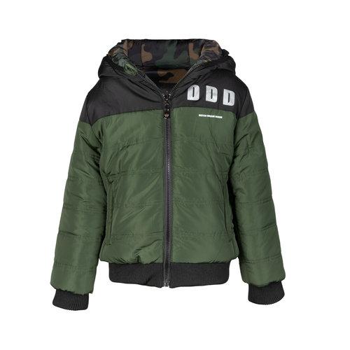 DDD DDD jongens reversible winterjas Askari Green