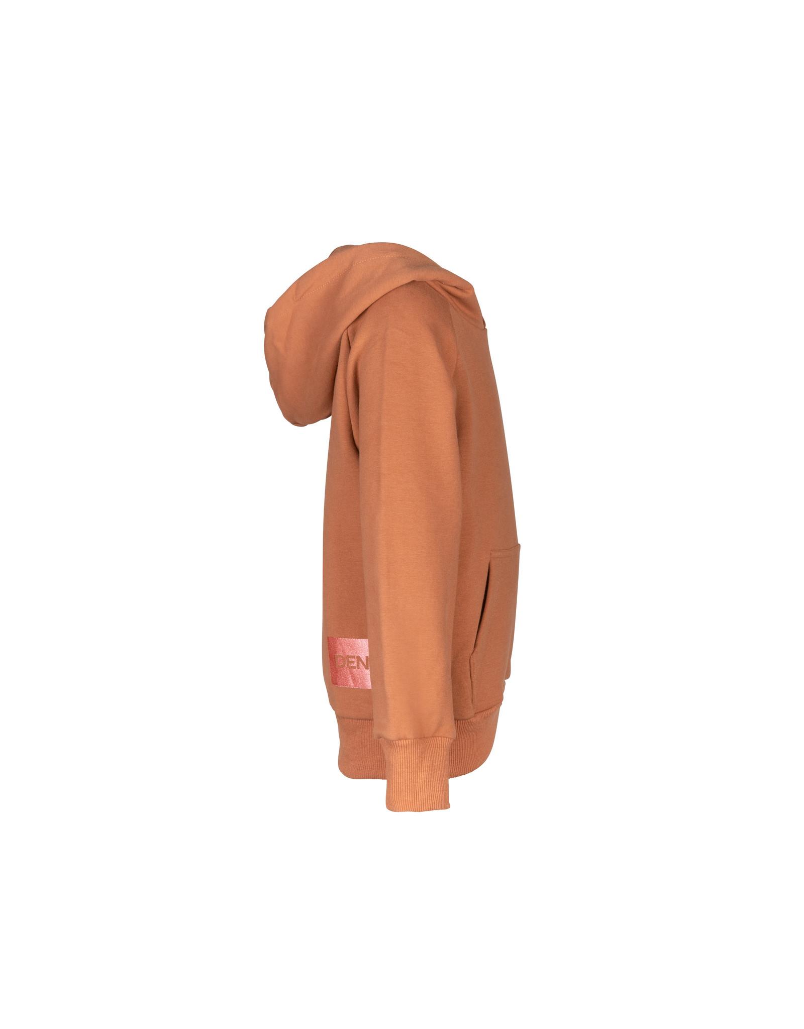 DDD DDD meiden hoodie Maua Brown