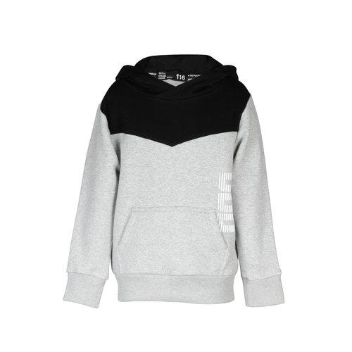 DDD DDD jongens hoodie Msitu Grey Melange