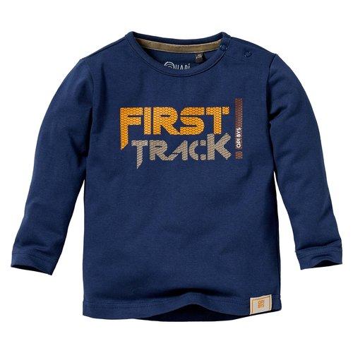 Quapi Quapi baby jongens shirt Lamar Blue Force