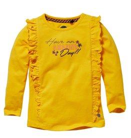 Quapi Quapi baby meisjes shirt Leonie Yellow Sun