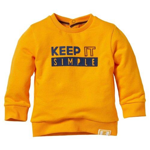 Quapi Quapi baby jongens sweater Levino Yellow
