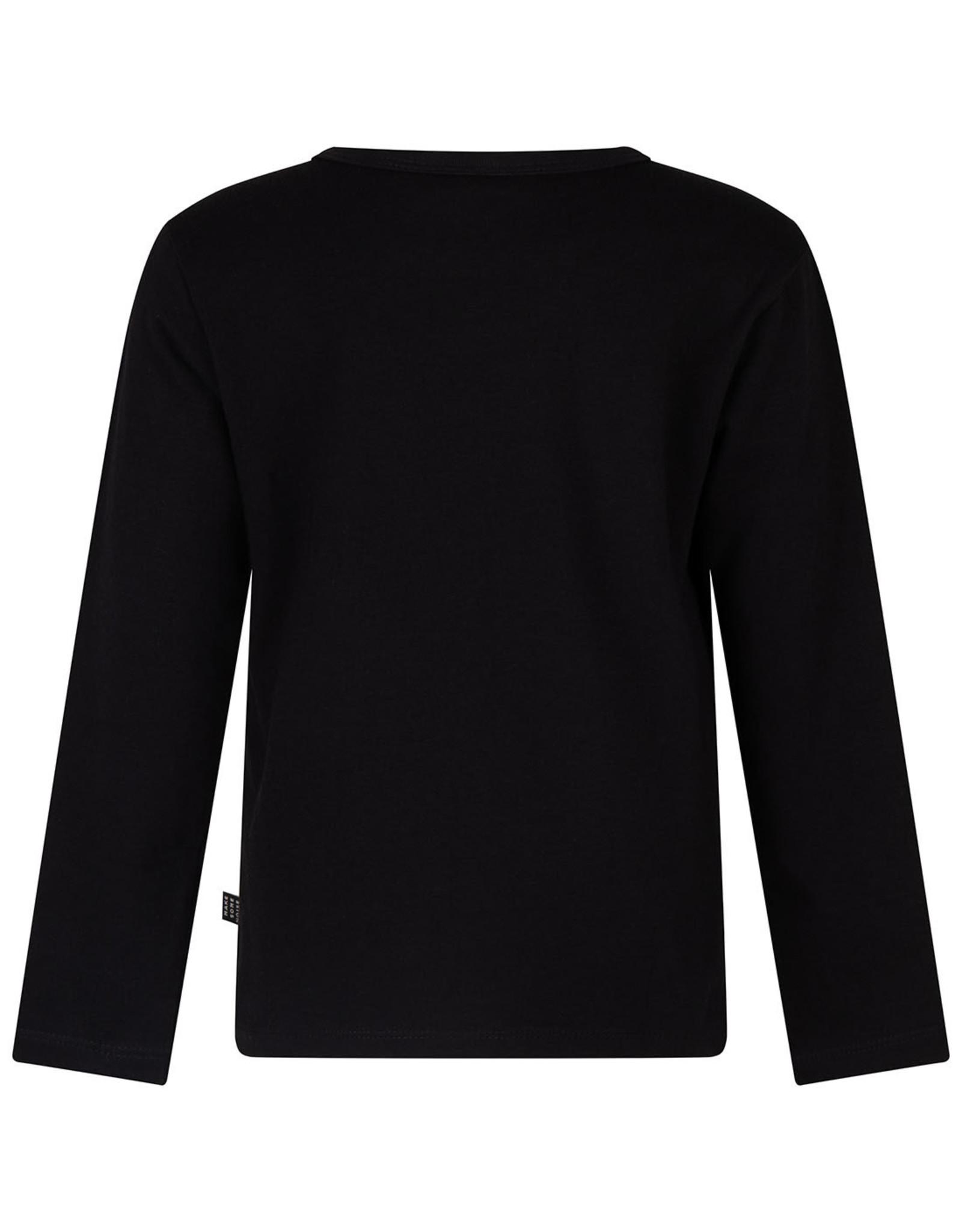 Daily7 Daily7 jongens shirt Black