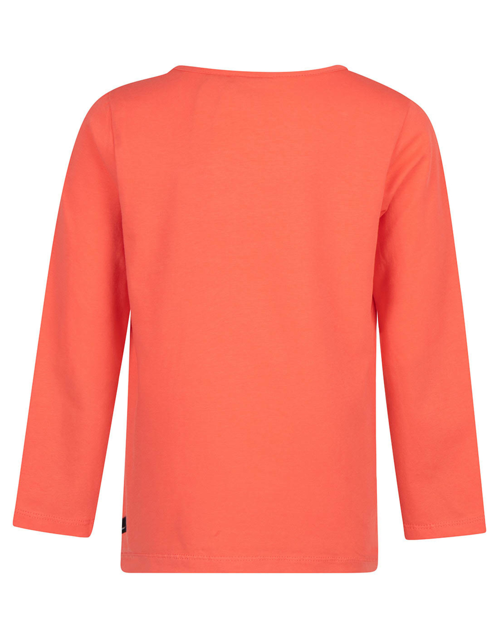 Daily7 Daily7 jongens shirt Make Some Noice Coral Red