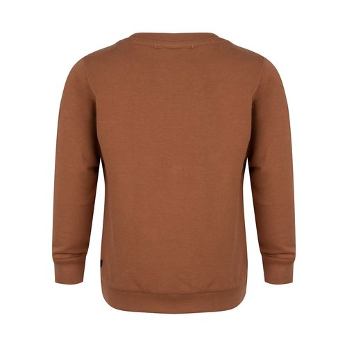 Daily7 Daily7 jongens sweater Pocket Hazelnut Brown