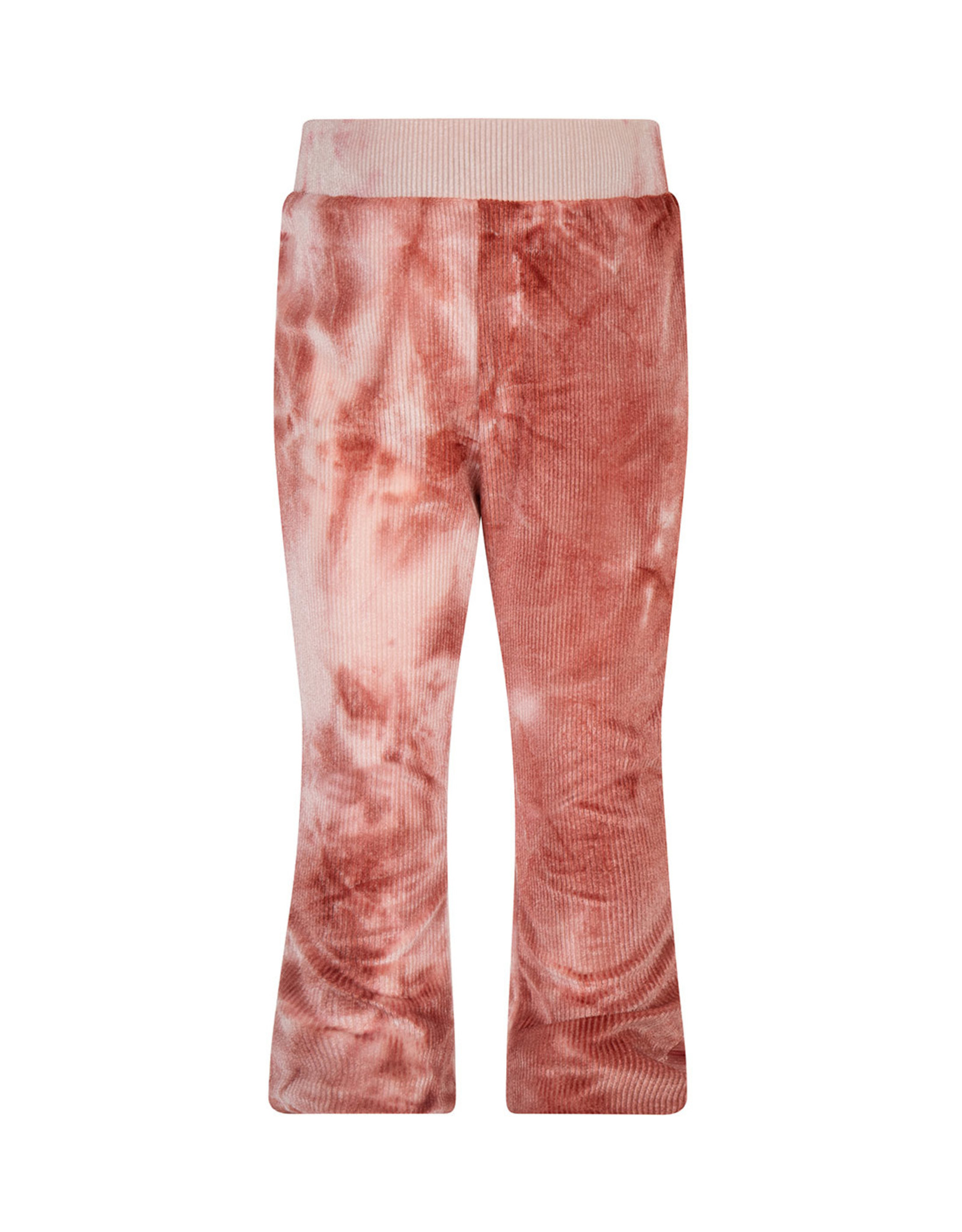 Daily7 Daily7 meisjes flaired pants Tie Dye Barn Bordeaux