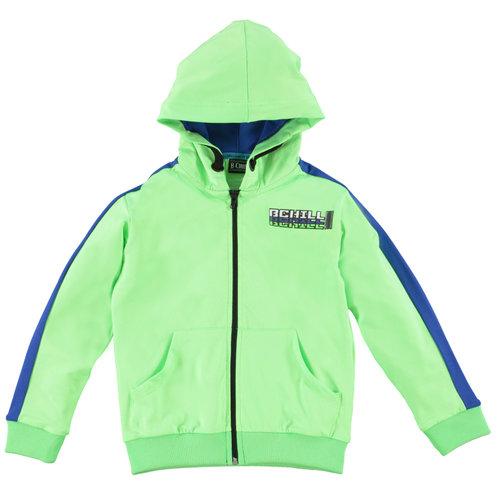 B'Chill B'Chill jongens vest Yakup Neon Green
