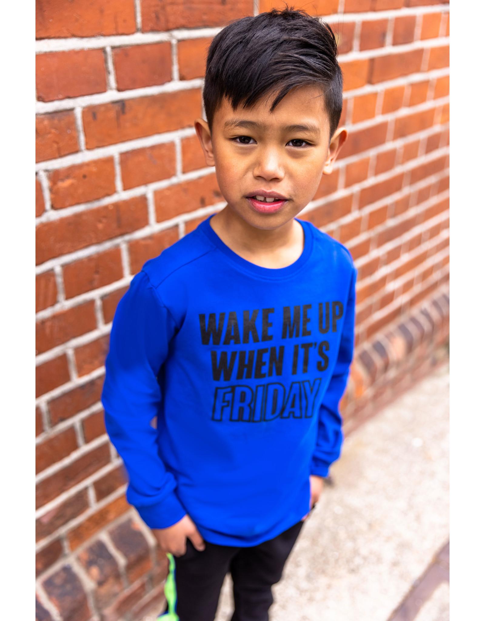B'Chill B'Chill jongens shirt Reno Cobalt