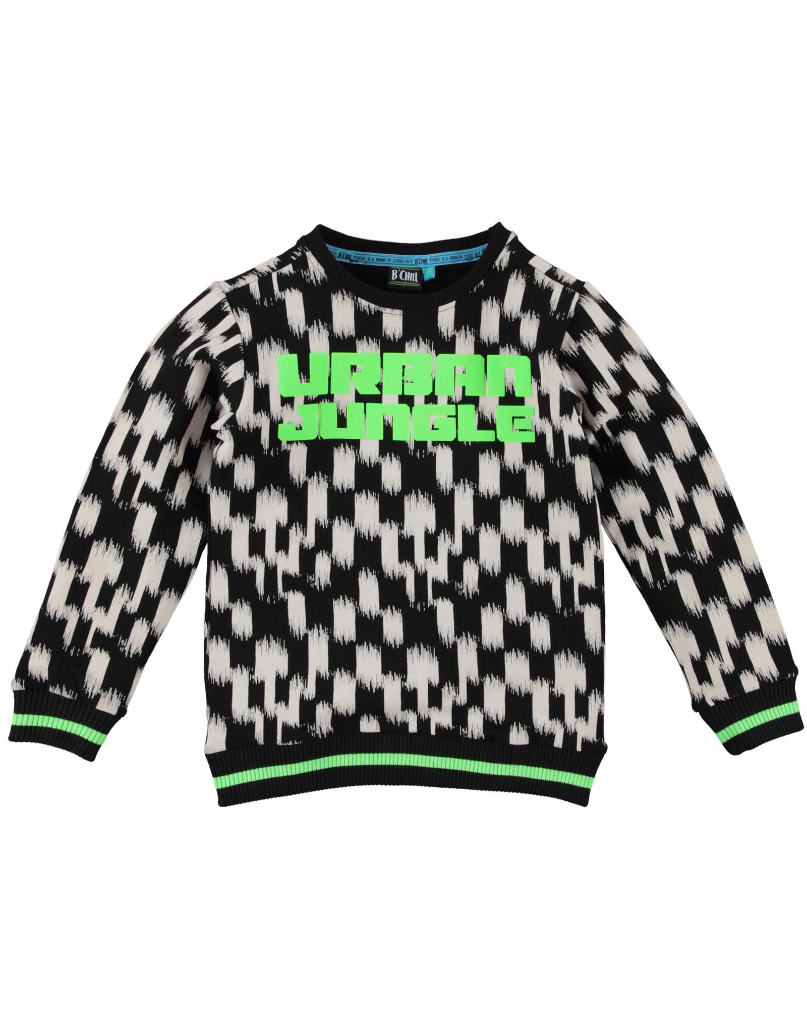 B'Chill B'Chill jongens sweater Rik Black