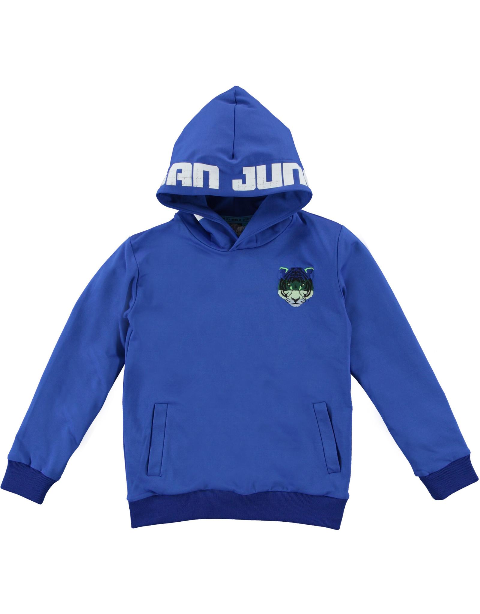 B'Chill B'Chill jongens hoodie Stein Cobalt