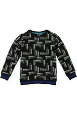 B'Chill B'Chill jongens sweater Wally Black