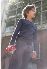 LEVV Levv jongens shirt Ray Grey Stone