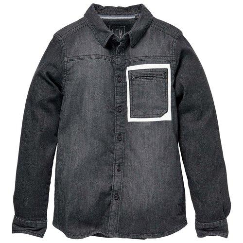 LEVV Levv jongens blouse Rick Grey Denim