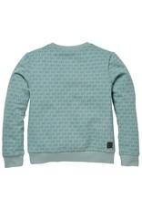 LEVV Levv jongens sweater Ricardo aop Blue Mist LVV