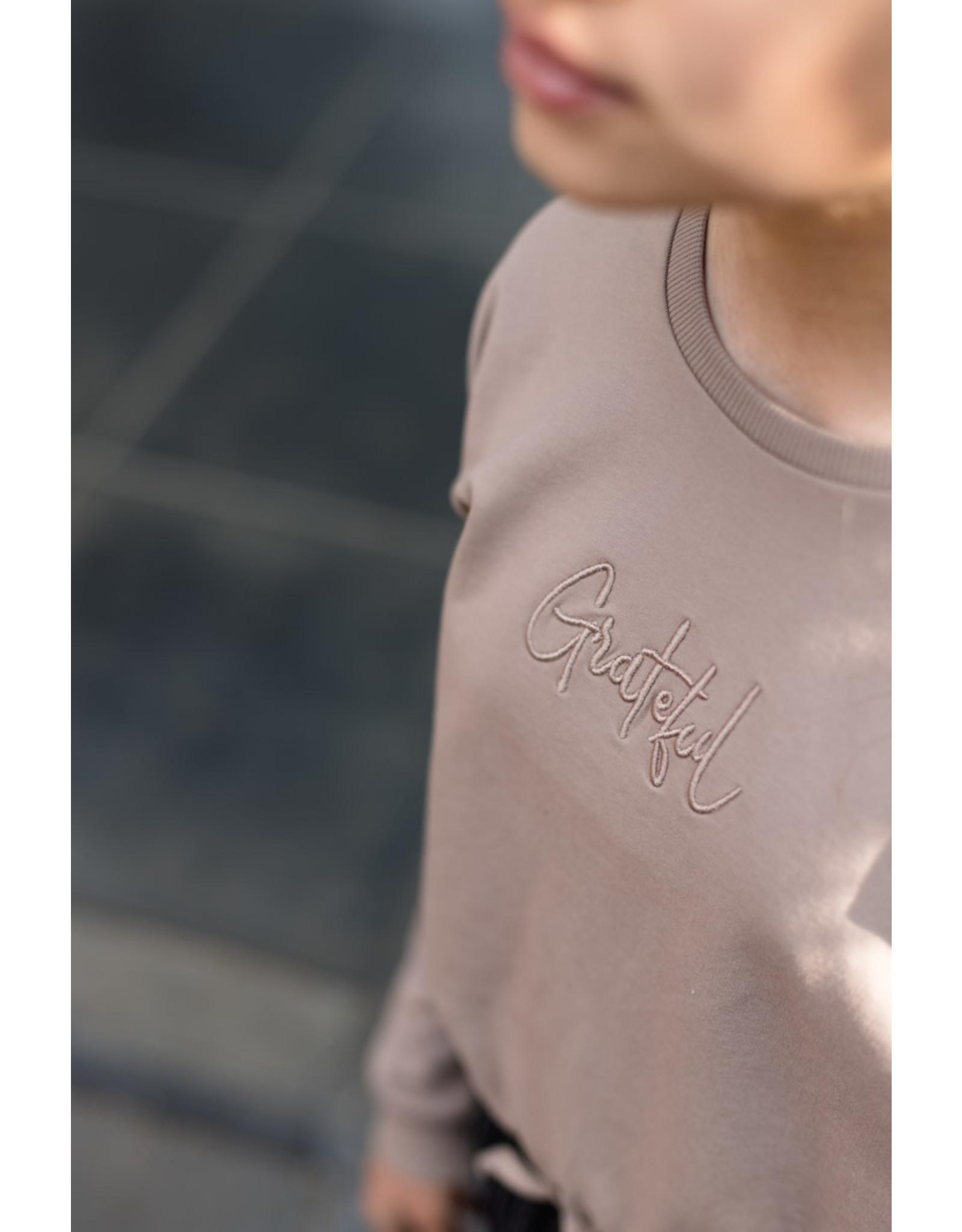 LEVV Levv meiden sweater Rita Brown Taupe
