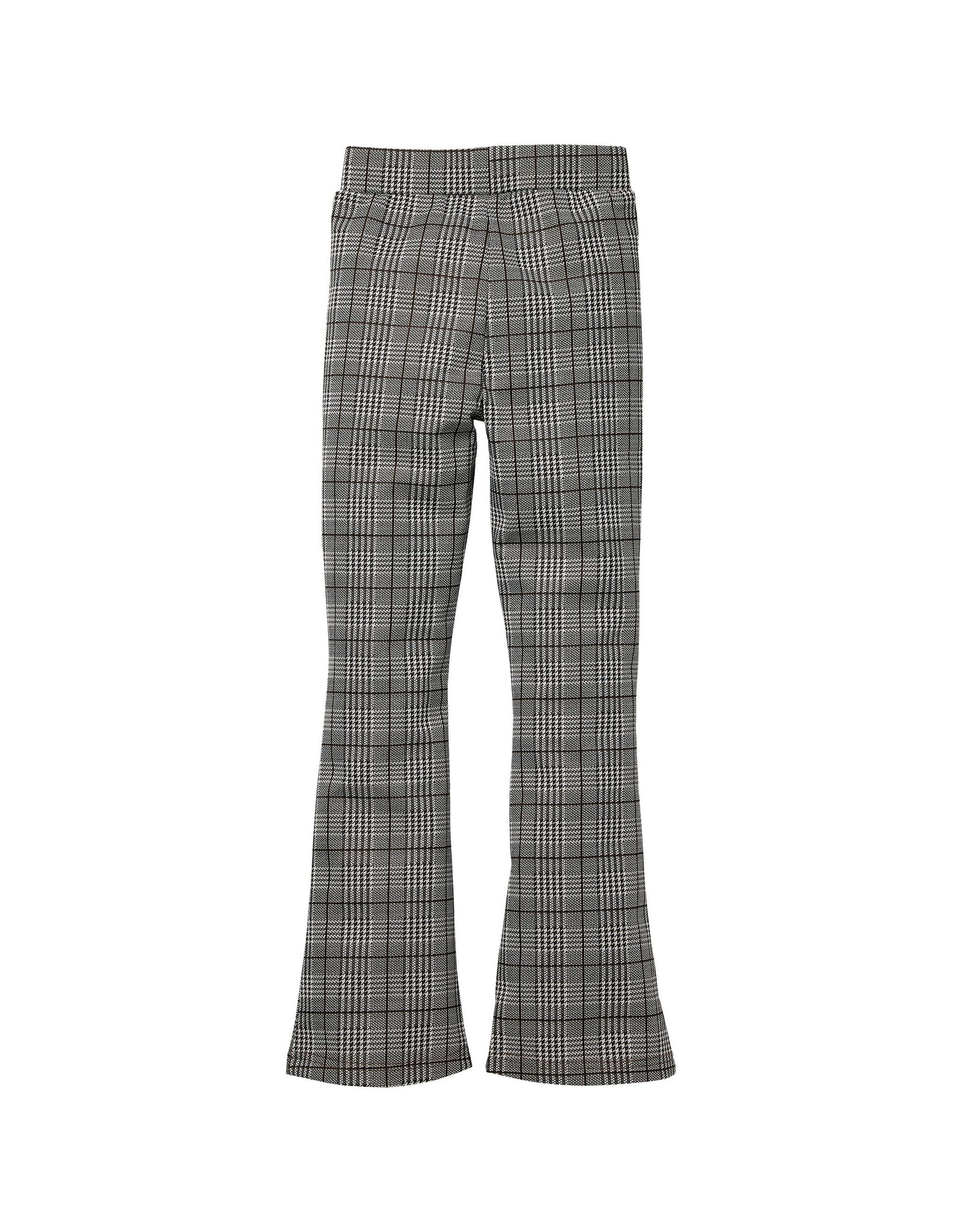 LEVV Levv meiden flaired pants Rox aop Brown Check