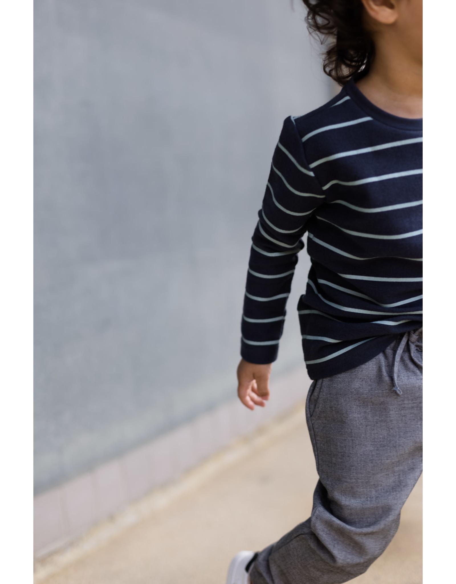 LEVV Levv jongens nette joggingbroek Sjors Grey Light
