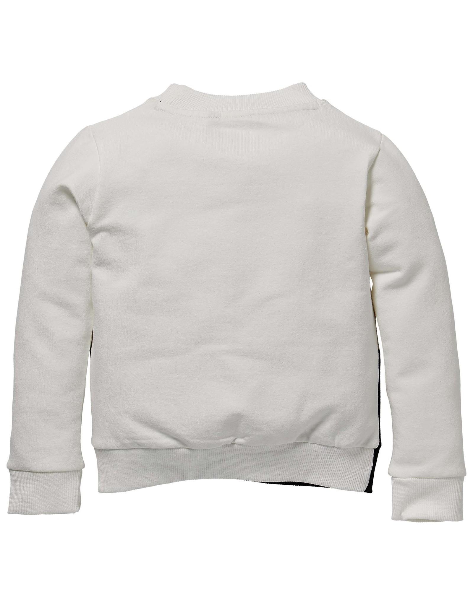 LEVV Levv meisjes sweater Sharon Off White