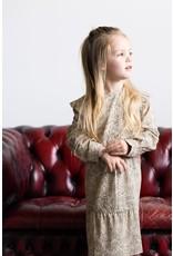 LEVV Levv meisjes jurk Sabina aop Sand Dot
