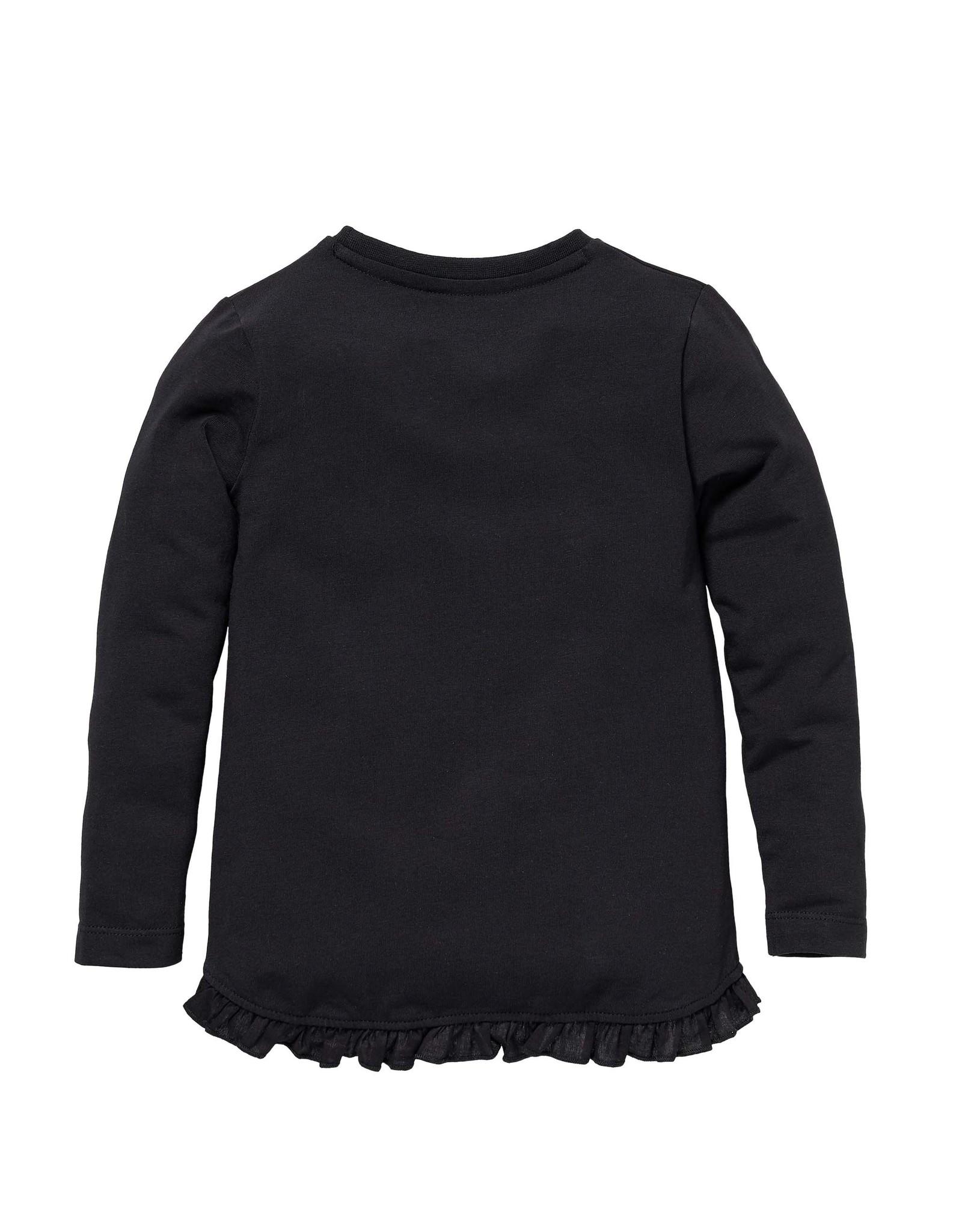 LEVV Levv meisjes shirt Scarlet Black