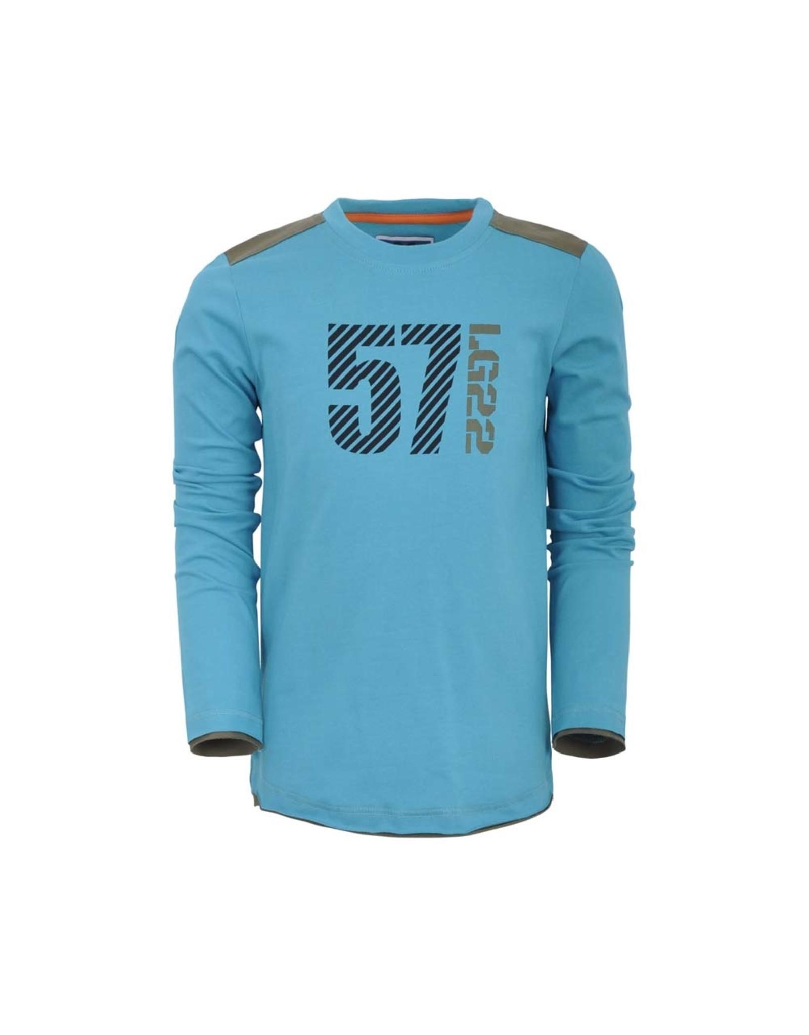 Legends Legends jongens shirt Finn Blue Tile