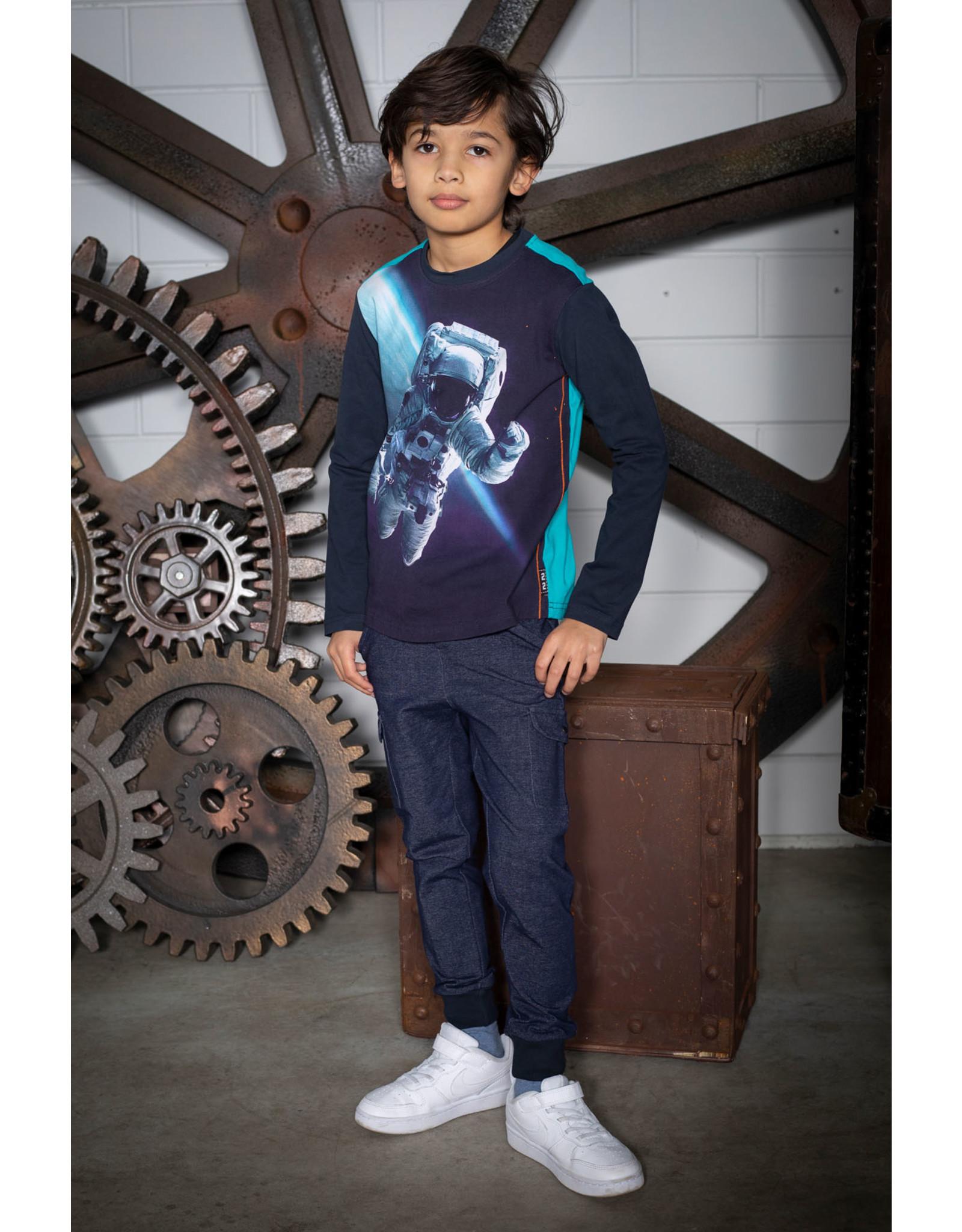 Legends Legends jongens shirt Siem Blue Tile