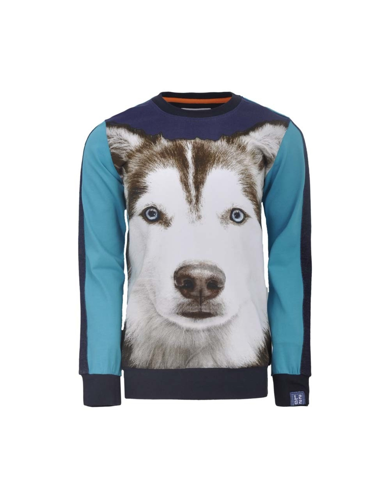 Legends Legends jongens sweater Hugo Blue Tile