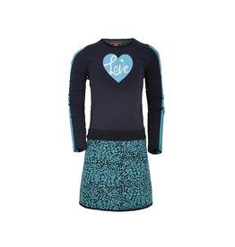 Lovestation Love Station meiden jurk Jasmijn Green