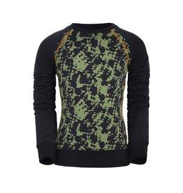 Unreal Unreal meiden sweater aop Green Black