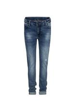 Indian Blue Jeans Indian Blue jongens skinny fit jeans Ryan Damaged Medium Denim