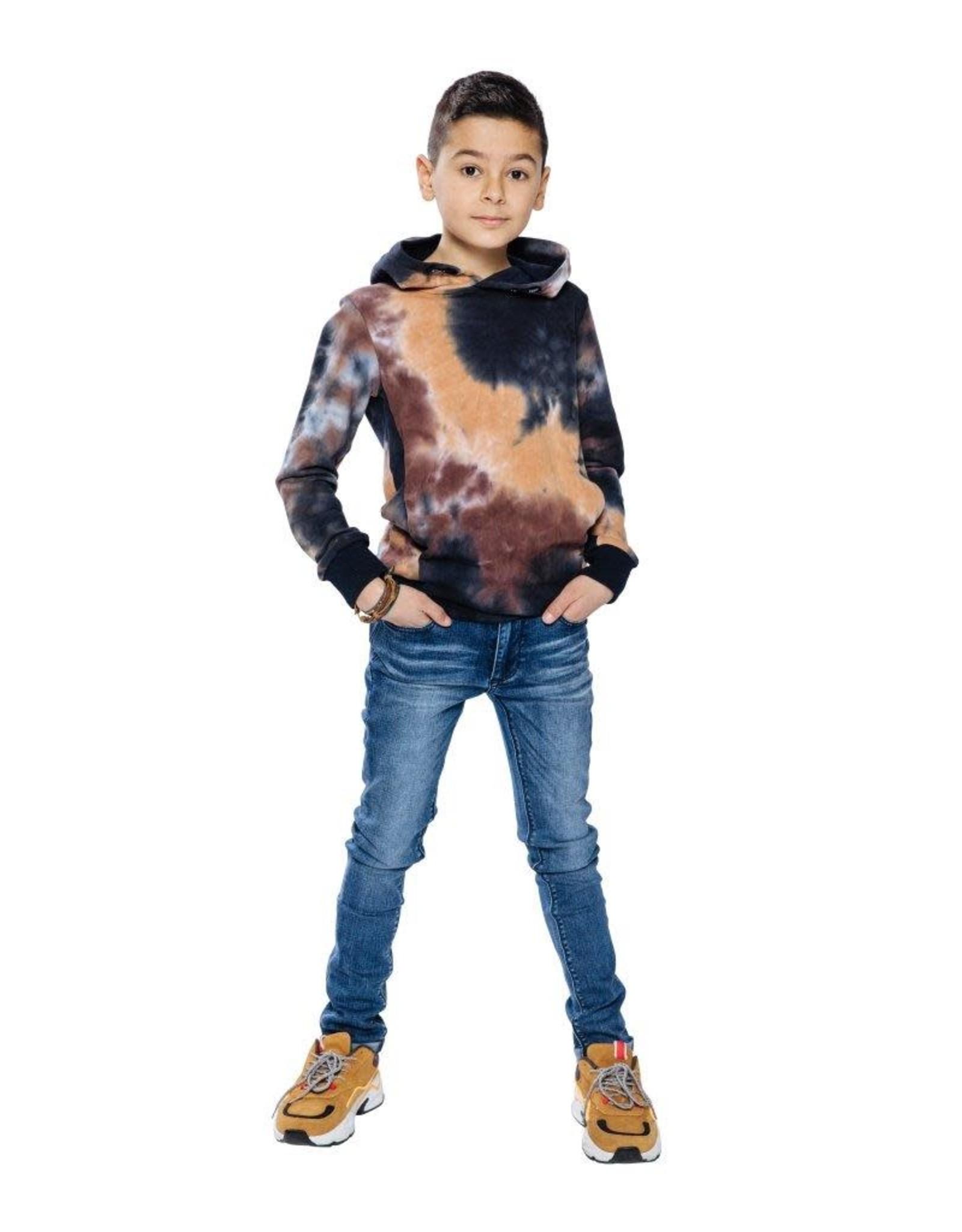 Indian Blue Jeans Indian Blue jongens super skinny fit jeans Brad Used Medium Denim