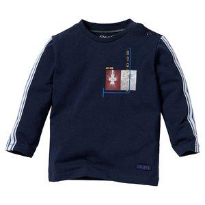 Quapi Quapi baby jongens shirt Leroy Blue Dark