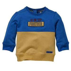 Quapi Quapi baby jongens sweater Levan Blue Royal