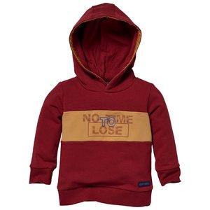 Quapi Quapi baby jongens hoodie Licoln Red Winter