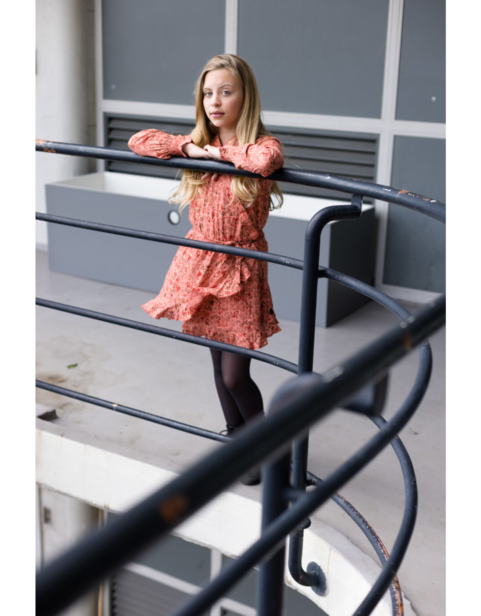 LEVV Levv meiden jurk Rebecca aop Terra Flower