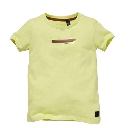 LEVV Levv jongens t-shirt Samuel Yellow Fresh