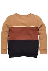 LEVV Levv jongens sweater Sieger Brown Sand