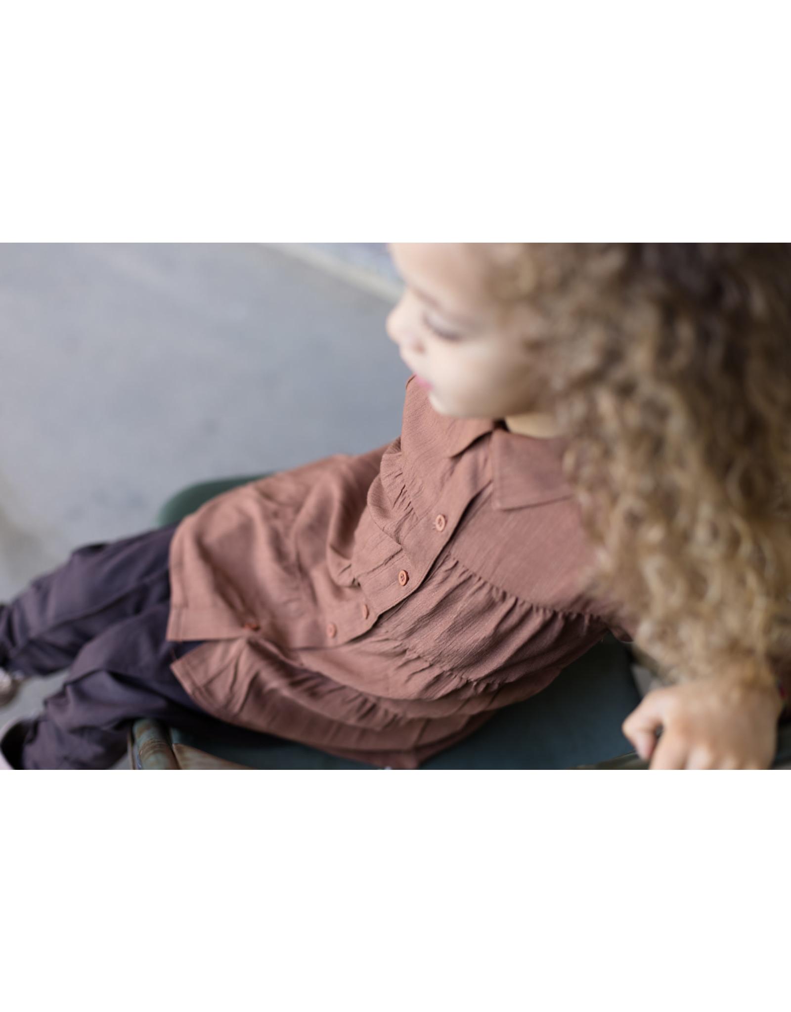 LEVV Levv meisjes blouse Shanti Rust