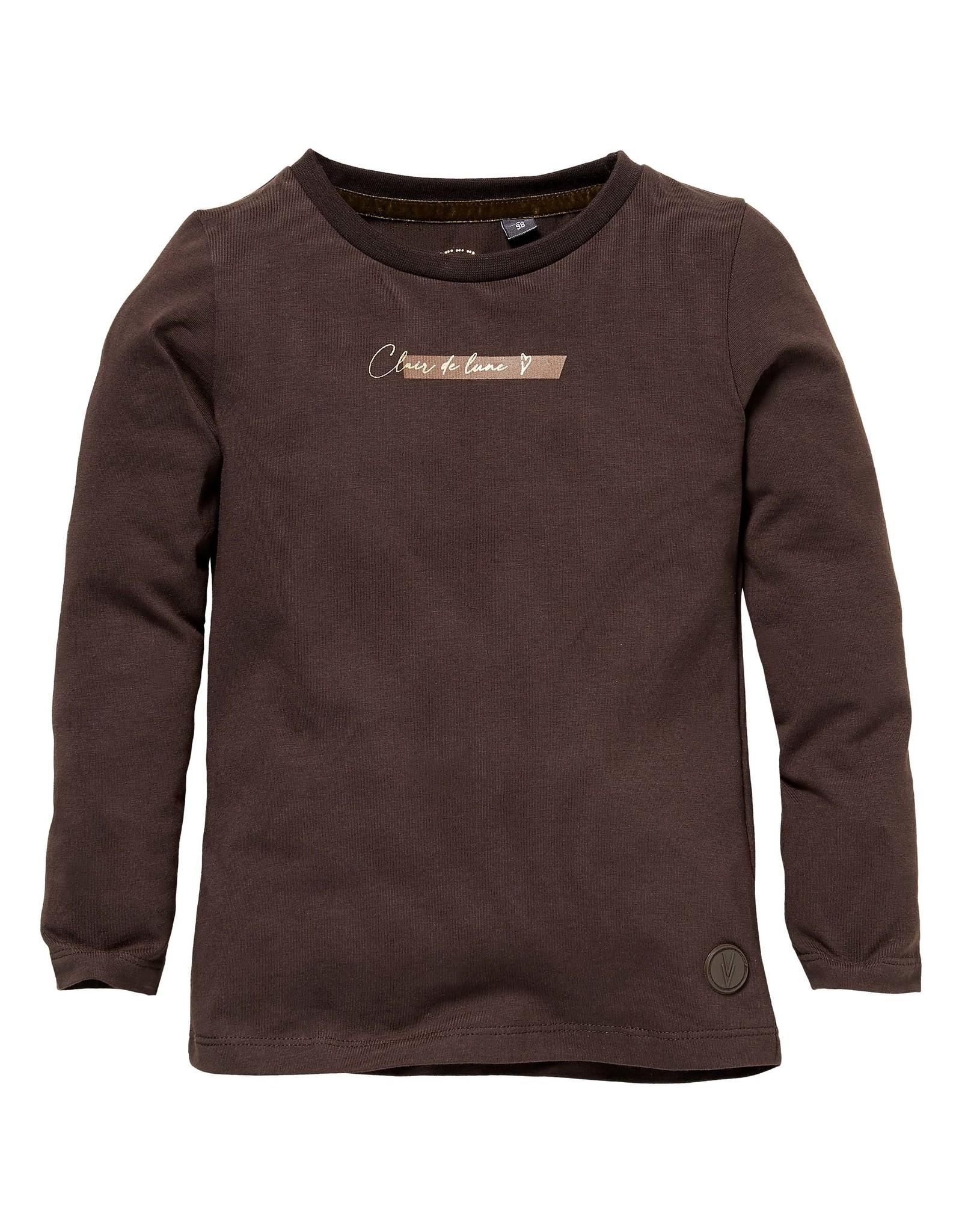 LEVV Levv meisjes shirt Sera Brown Dark