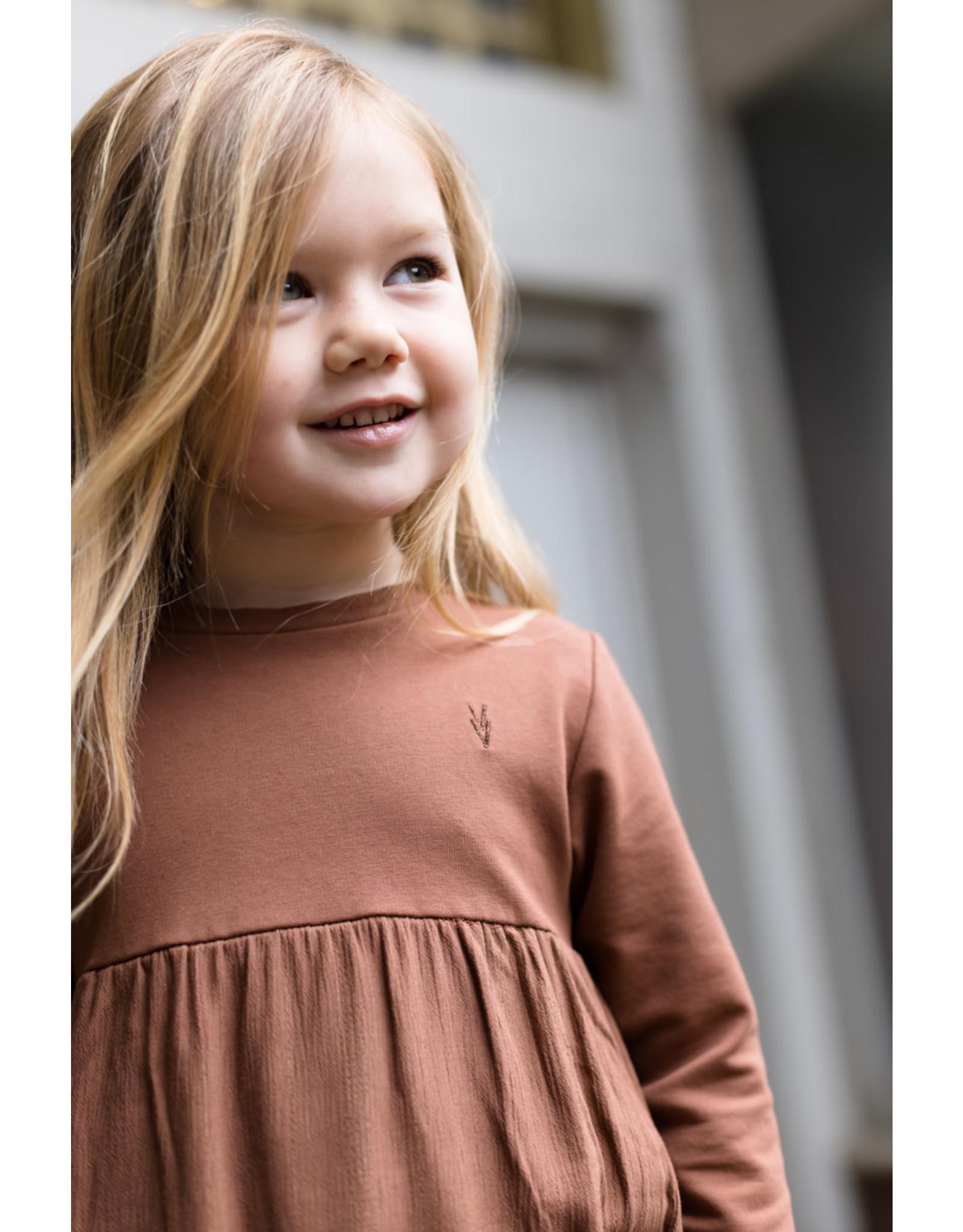 LEVV Levv meisjes jurk Saartje Rust