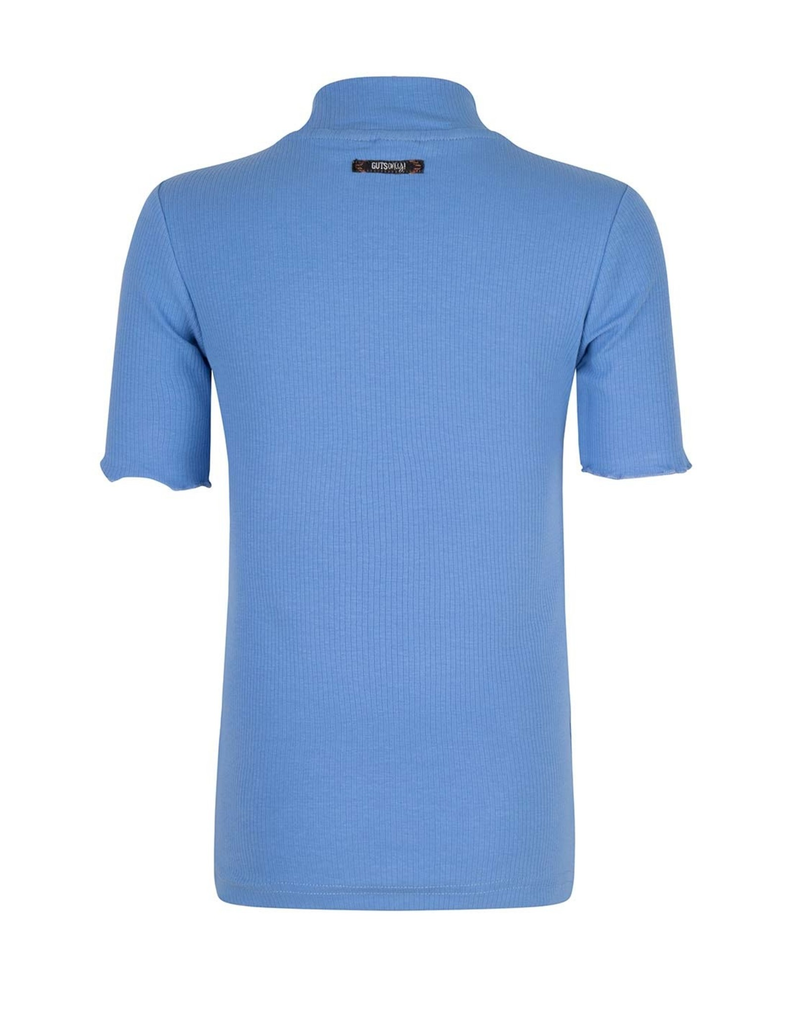 Indian Blue Jeans Indian Blue meiden t-shirt met coll Ultra Marine