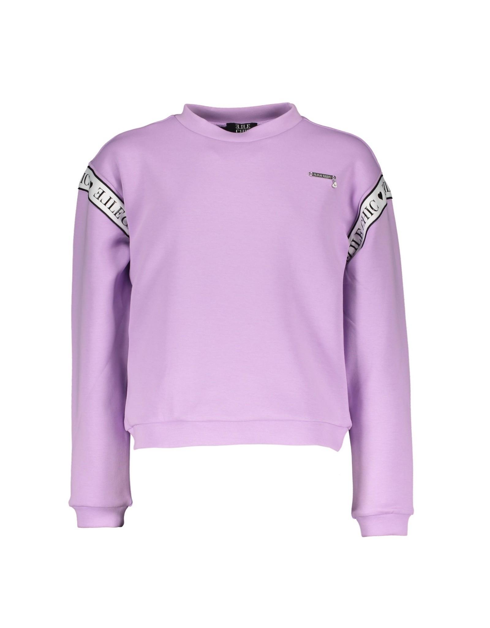 Elle Chic Elle Chic meiden sweater Ofira Pale Amethyst