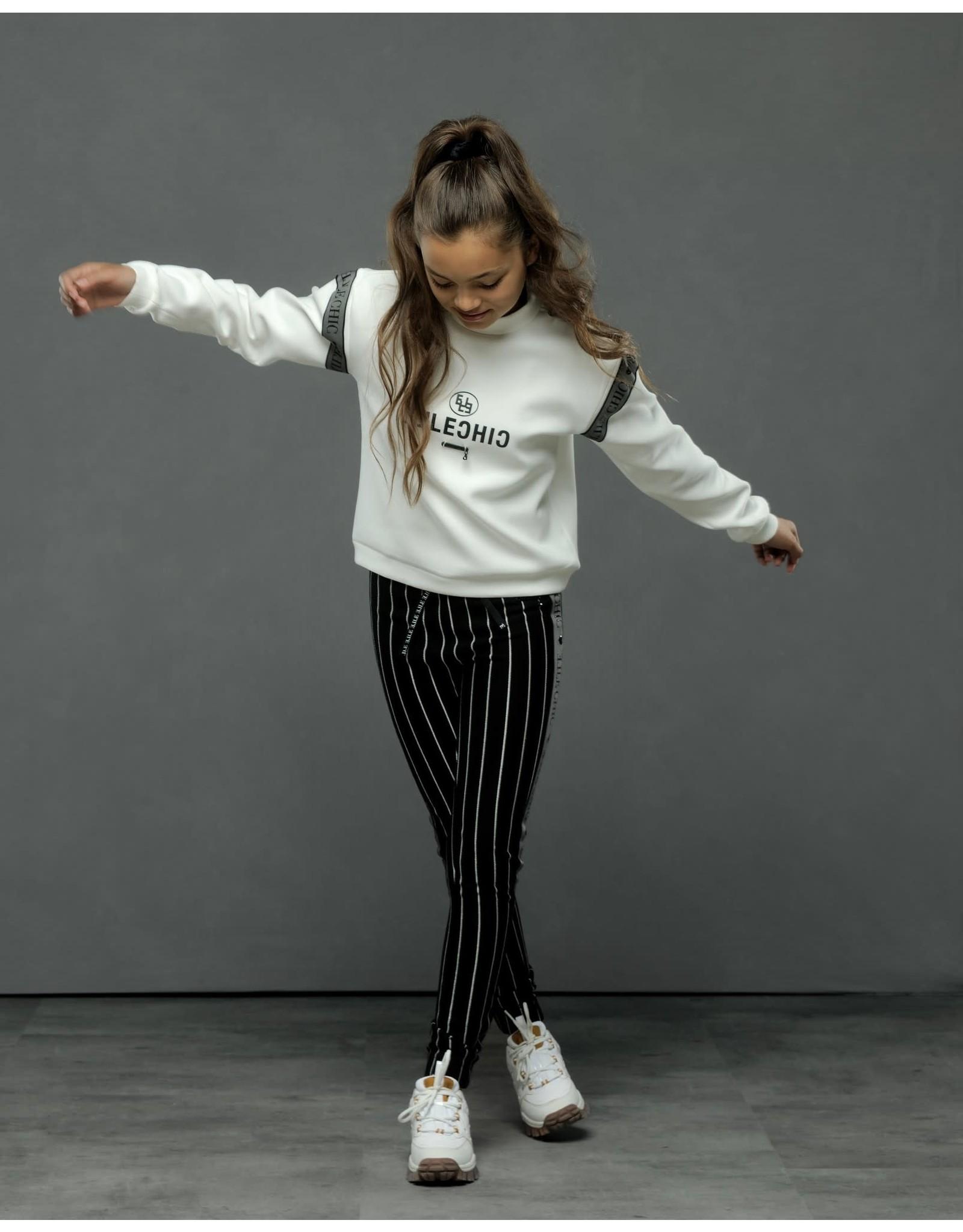 Elle Chic Elle Chic meiden sweater Ofira Off White