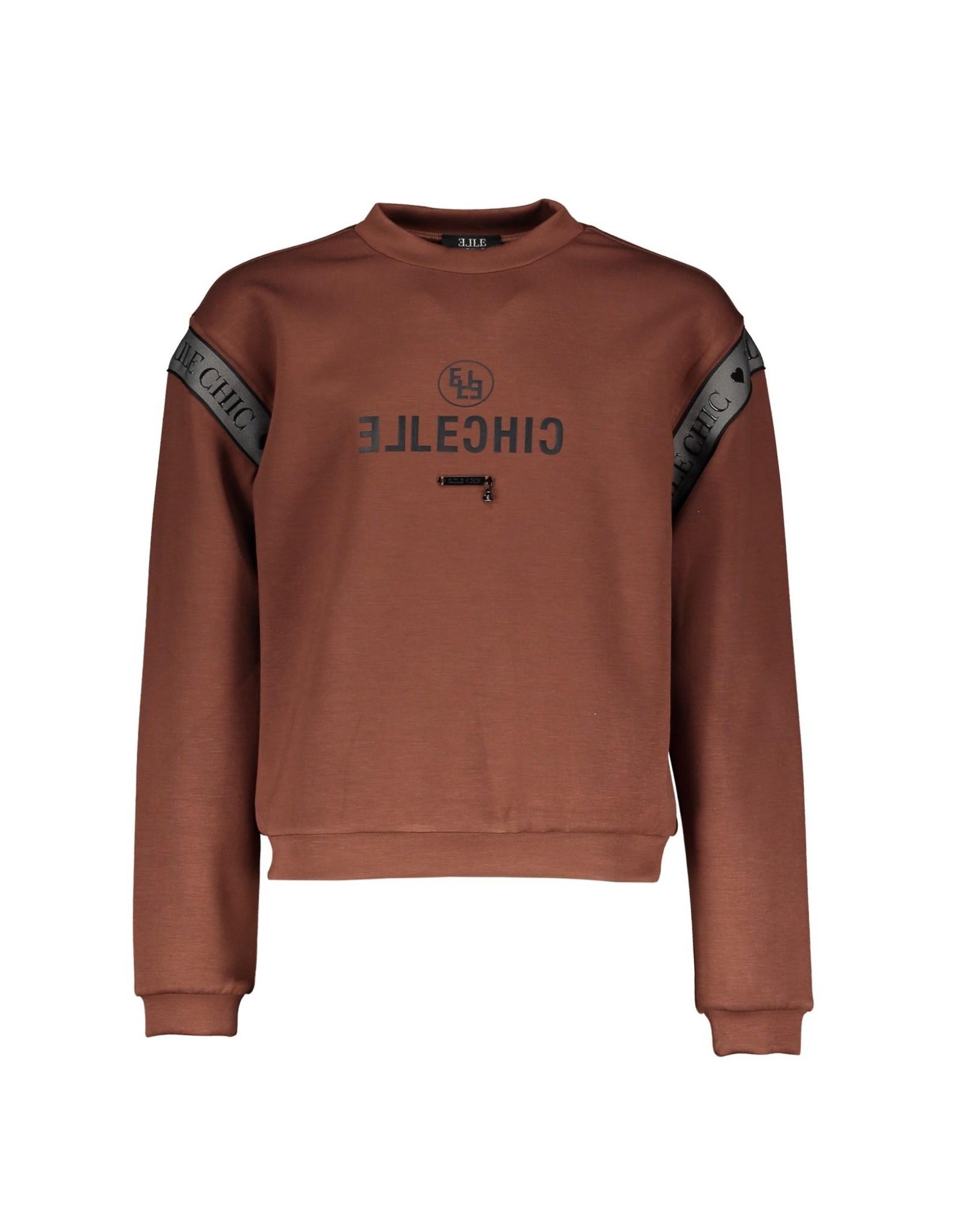 Elle Chic Elle Chic meiden sweater Ofira Cinnamon