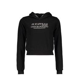 Elle Chic Elle Chic meiden hoodie Oulay Black