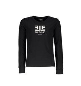 Elle Chic Elle Chic meiden boxy shirt Nancy Black