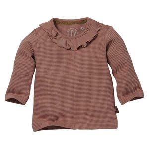 LEVV Levv newborn baby meisjes shirt Beertje Mauve