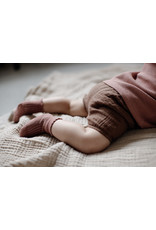 LEVV Levv newborn baby meisjes korte broek Berna Brown Almond